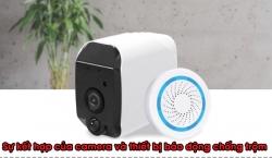 Sự kết hợp của camera và chuông báo động giúp bảo vệ gia đình bạn tốt nhất