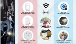 Bộ báo trộm kết nối qua wifi trên thị trường có ưu điểm nhược điểm gì ?