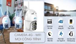 Lắp đặt camera không cần wifi, mạng dây, kết nối sim 4G giám sát mọi công trình xây dựng